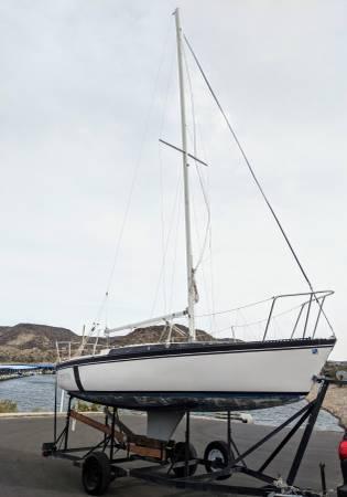 Photo FIRE SALE 2539 Foot Merit (Cruising or Racing) Sailboat Sail Boat - $3,900 (Peoria)