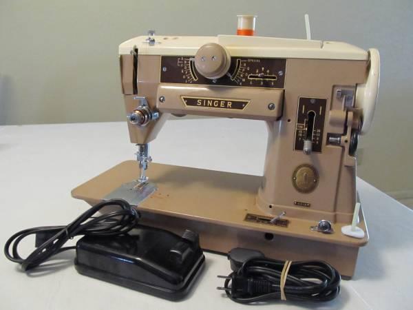 Photo Heavy Duty Singer Straight Stitch  Zigzag Sewing Machine model 401 - $125 (35th Avenue  Union Hills)
