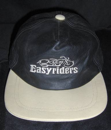Photo Leather Easy Rider Baseball HatCap (e mesa)