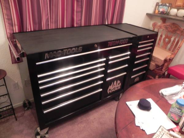 Photo Mac Tools Tech 1000 11 Drawer Double BankSide Box - $3500 (NLV)