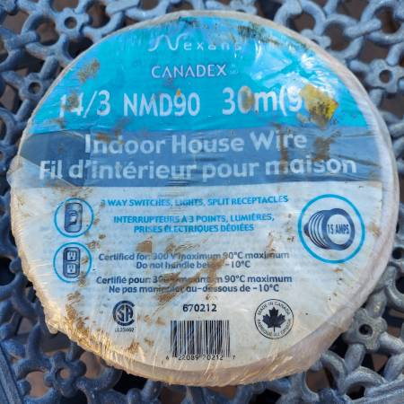 Photo New 143 Indoor House Wire 30M (98 Feet) - $40 (67th ave  Happy Valley)
