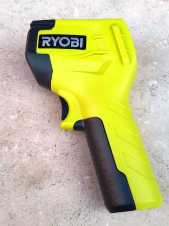 Photo New Ryobi InfraRed Thermometer IR002 Measures From -4 To 600 Degrees F - $34 (Scottsdale)