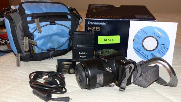 Photo Panasonic DMC-FZ5 - $35 (Gold Canyon)