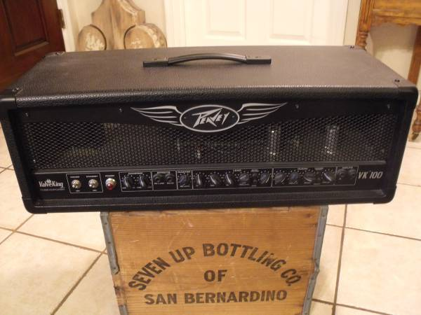 Photo Peavey Valve King 100 Watt Guitar Tube Amp Amplifier - $350 (Glendale)