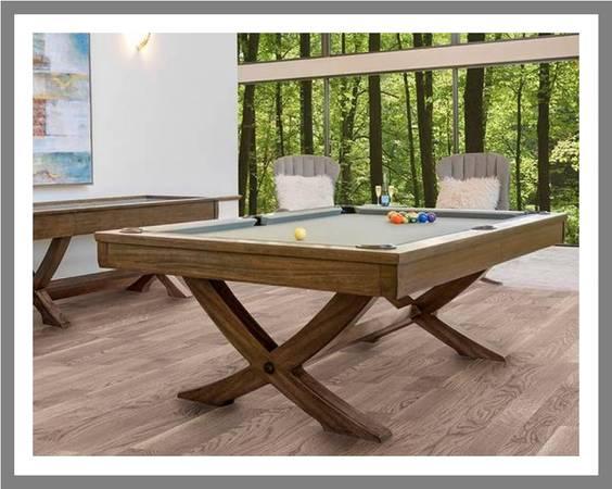 Photo Pool Table Tables Shuffleboard Foosball Air Hockey Bar Arcade Poker - $1 (Billiard Gallery 20816 N. 20th Ave.)
