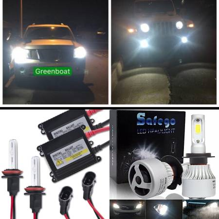 Photo Quality hid LED conversion light kit - any truck or car or SUV - - $45 (PHOENIX)