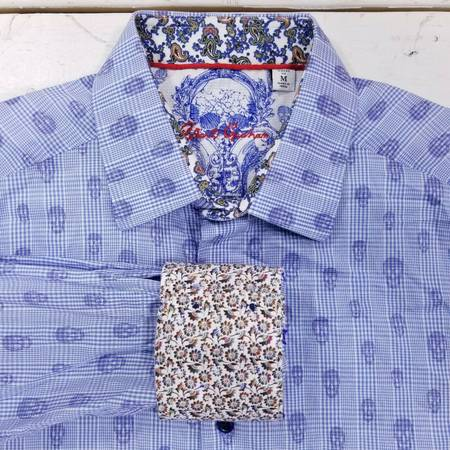 Photo Robert Graham Kinderhook skull head sport shirt M - $50 (San Tan Valley)