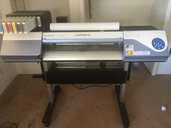 Photo Roland VersaCAMM VS-300 30quot Printer and Cutter - $6,000 (Phoenix)
