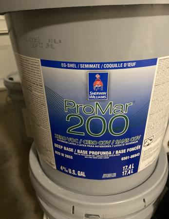 Photo Sherwin Williams Interior Paint 5 Gal Bucket ( Whole Wheat Color ) - $60 (Glendale)