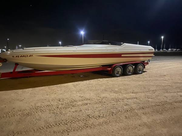 Photo Sleek craft Power boat 28ft open bow Enforcer - $55,000 (Scotsadale Arizona)