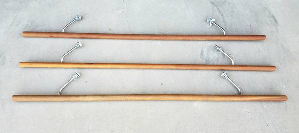 Photo Solid Wood Ballet Barres  Exercise Bars - Wall Mounted - $25 (North Scottsdale)
