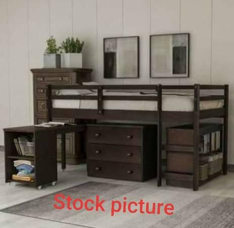 Photo Twin Loft Bed - $400 (Phoenix)