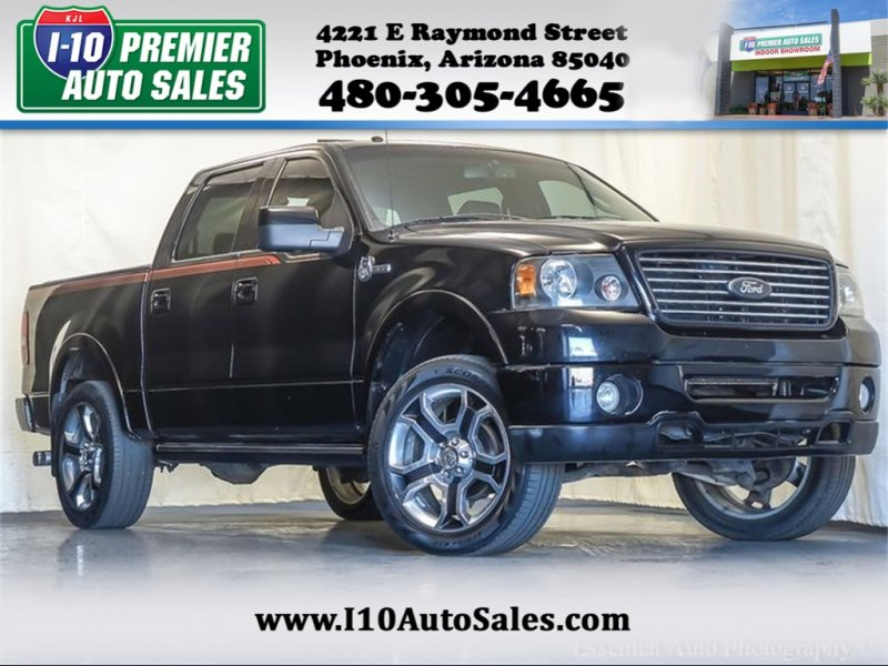 Photo Used 2008 Ford F150 Harley-Davidson for sale