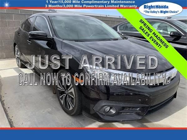 Photo Used 2018 Honda Civic EX-T  $2,351 below Retail (Scottsdale,AZ  Right Honda)