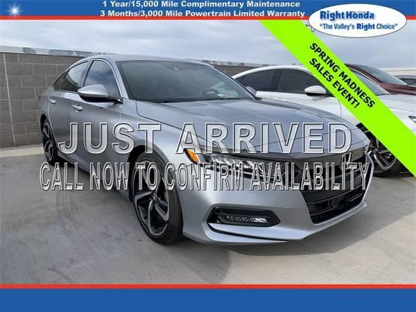 Photo Used 2019 Honda Accord Sport  $6,798 below Retail (Scottsdale,AZ  Right Honda)