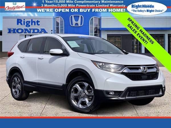 Photo Used 2019 Honda CR-V EX-L  $2,687 below Retail (Scottsdale,AZ  Right Honda)
