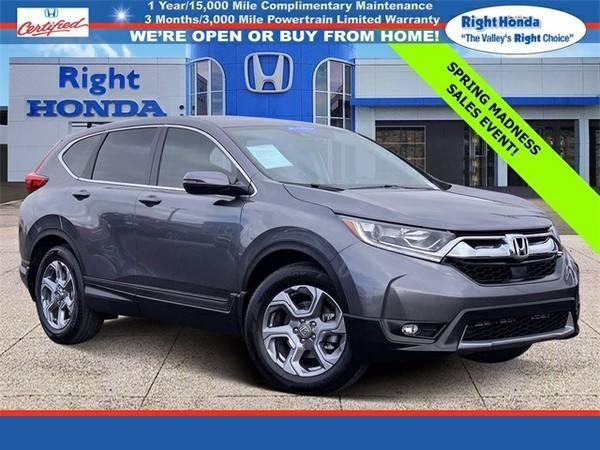Photo Used 2019 Honda CR-V EX-L  $7,025 below Retail (Scottsdale,AZ  Right Honda)