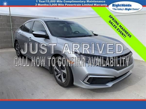 Photo Used 2019 Honda Civic LX  $5,397 below Retail (Scottsdale,AZ  Right Honda)