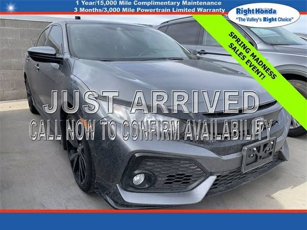 Photo Used 2019 Honda Civic Sport  $5,341 below Retail (Scottsdale,AZ  Right Honda)