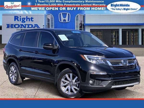 Photo Used 2019 Honda Pilot EX-L  $7,538 below Retail (Scottsdale,AZ  Right Honda)