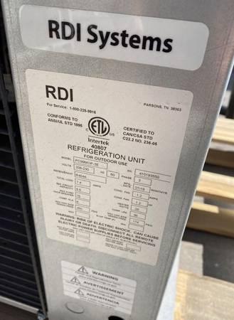 Photo Used Evaporator and Condenser for walk-in - $800 (EEL Restaurant Equipment)