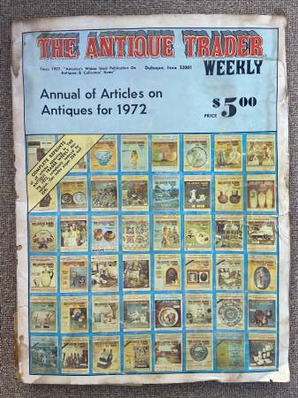 Photo Vintage 39Antique Trader Weekly39 and 39Antiques39 Magazines - $1 (Fountain Hills)
