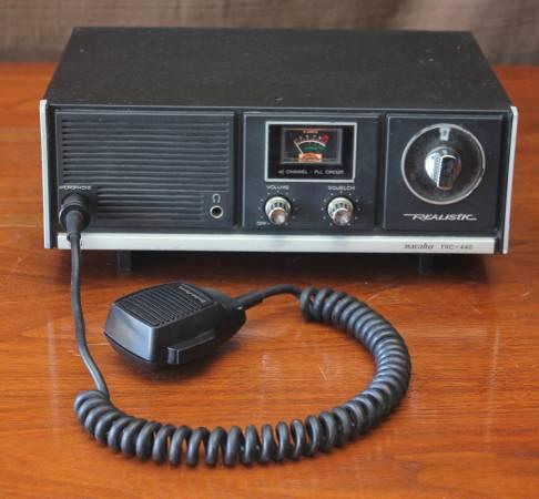 Photo Vintage Realistic Navaho TRC-440 CB Base Station Radio - $30 (North End of Peoria)