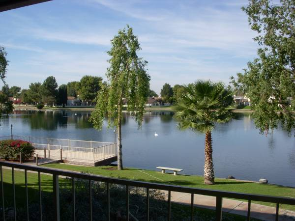 Photo WATERFRONT Condo on LAKE Furnished from 1895mo  895week in winter (11040 N 28th drive phoenix az 85029)