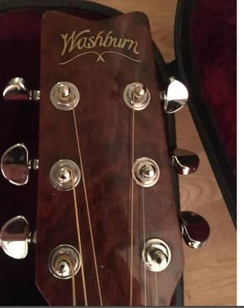 Photo Washburn D11AN Acoustic guitar - $200 (Phoenix)
