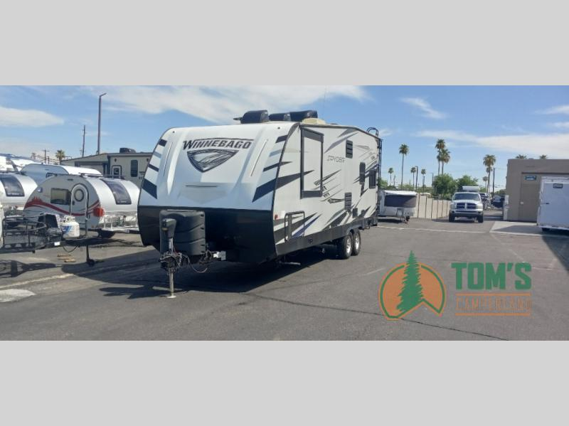 Photo Used 2020 Winnebago Industries Towables Travel Trailer Toy Hauler RV  $42995