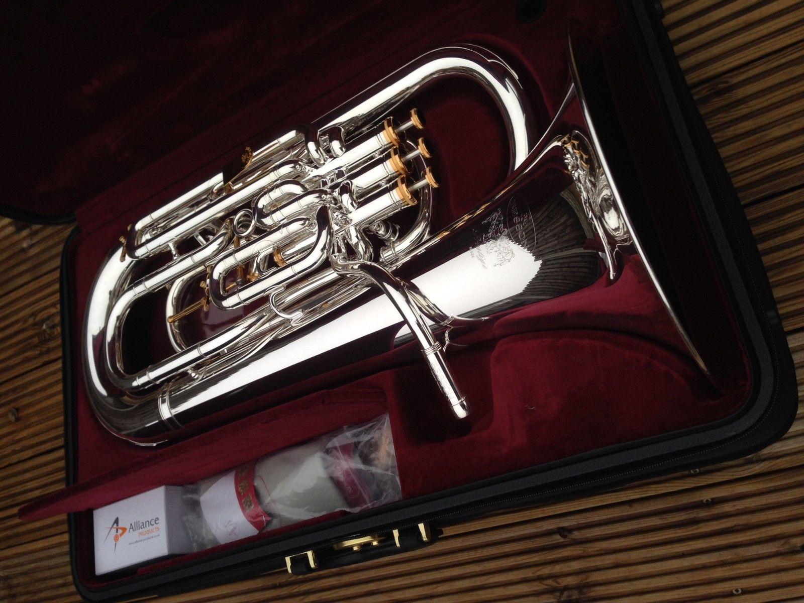 Photo Besson Prestige BE2052-2 Bb Euphonium