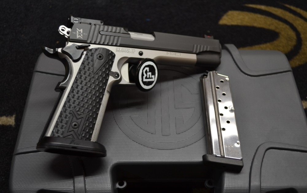 Photo Sig Sauer Max Michel 1911 in 9mm With 5 Barrel and 2-9 Round Mag NIB