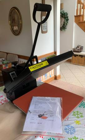 Photo 15 X 15quot Heat Press - $220 (McDonald)