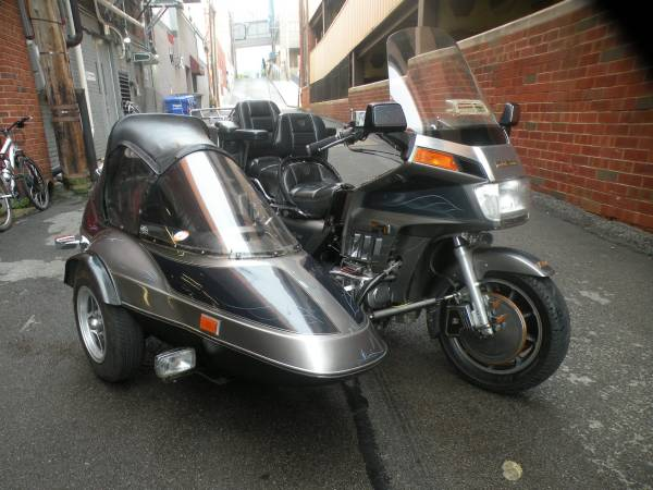Photo 1985 Honda Goldwing Aspencade 1200 wSide Car - $5,999 (BUTLER)