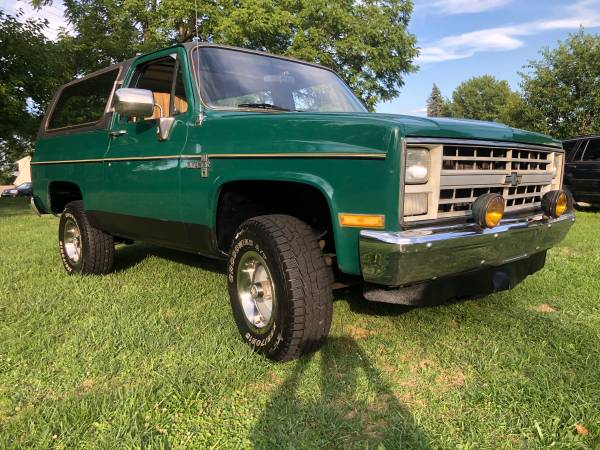 Photo 1986 Chevy K5 Blazer 4x4, LOW 42K Mi, Runs Great, Drive Her Home - $7,900 (Pittsburgh, Pa)