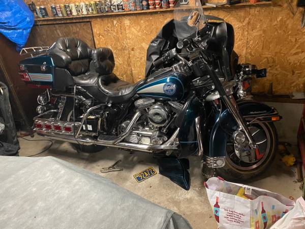 Photo 1990 Harley Davidson ultra classic, one owner garage kept, very good price for a - $6,500 (Baden)