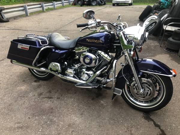 Photo 2000 Harley Davidson Road King - $8,500 (Ingram)