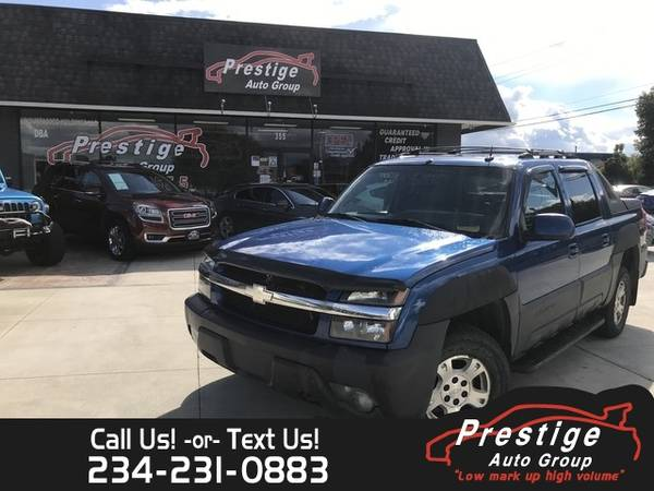 Photo 2003 Chevrolet Avalanche  - 100 Approvals - $5,494 (Pittsburgh)