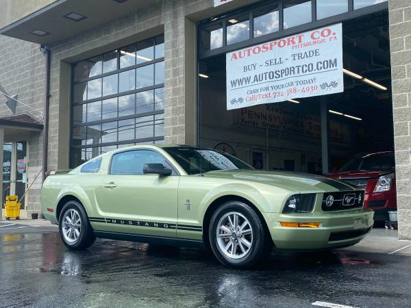 Photo 2005 Ford Mustang  Legend Lime Green  5-Spd  6-Cylinder  51k Miles - $9,900 (Pittsburgh - Fox Chapel)