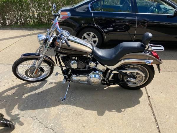 Photo 2005 Harley Davidson FXSTDI Softail Deuce FI - $8,300 (Brookline)