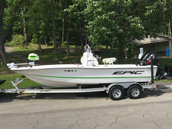 Photo 2014 Epic SC 22 Center Console Boat - $38,000 (INDIANA, PA)