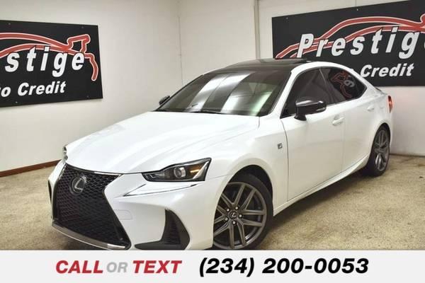 Photo 2017 Lexus IS 300 F Sport - $28,563 (Pittsburgh)