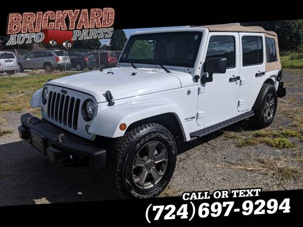Photo 2018 Jeep Wrangler JK Unlimited Golden Eagle 4x4 - $18899 (Darington)