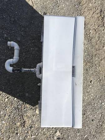 Photo 2 bowl poly utility sink - $50 (donegal)