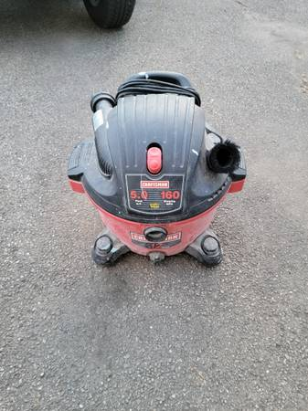 Photo 3 Craftsman Shop Vacuums 16 gallon 12 gallon wet dry - $135 (Cheswick, pa)