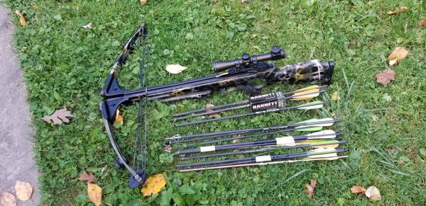 Photo BARNETT Crossbow Package - $295 (rimersburg)