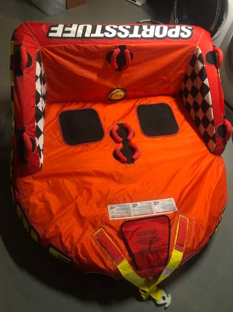 Photo Big Mable Boat Towable Tube - $200 (Ross Township)