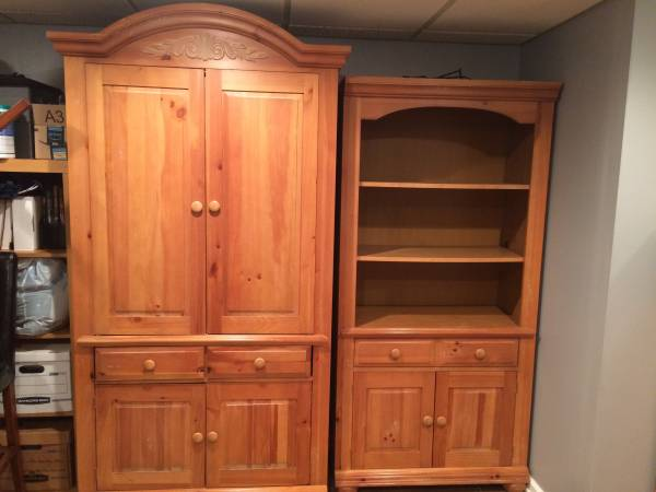 Broyhill Fontana Armoire Bookcase 550 Monroeville Furniture For Sale Pittsburgh Pa Shoppok
