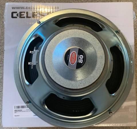 Photo Celestion Seventy 80 12quot 80 Watt 16 Ohm Guitar Speaker BRAND NEW - $40 (North Hills)