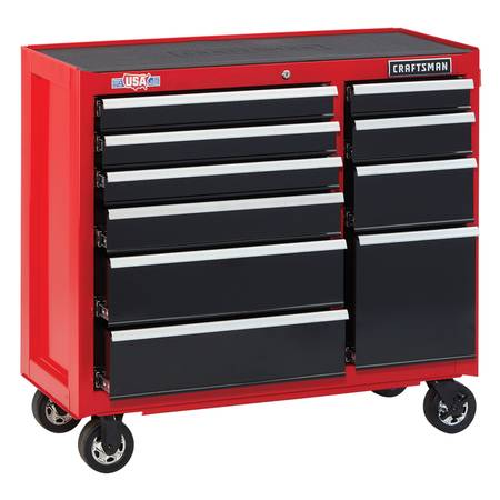 Photo Craftsman 41 in 10 drawer Metal Bottom Tool Chest BRAND NEW IN THE BOX - $439 (Pittsburgh)